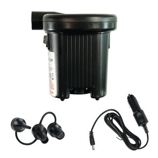Battery Operated Indoor/Outdoor Air Pump for Large Volume Inflatables