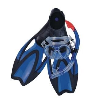 Blue Zray Teen/Young Adult Pro Scuba or Snorkeling Swimming Pool Set - Medium