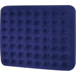 "80"" Navy Blue Queen Sized Indoor/Outdoor Inflatable Air Mattress"
