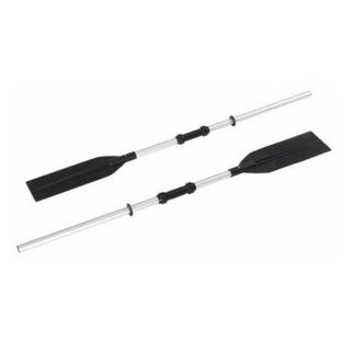 Two Section Super Strong Aluminium Rowing Oars - Set of 2