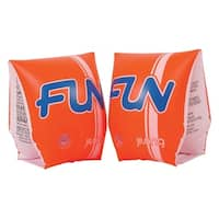 "Set of 2 ""Fun"" Inflatable Swimming Pool Arm Floats for Kids 3-6 Years"