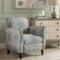 Madison Park Valeria Blue Multi/ Brown Accent Chair