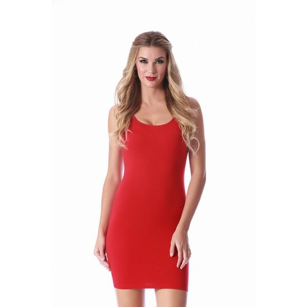 InstantFigure Women's La Monir Scoop Neck Tank Dress