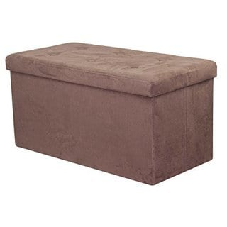 Sorbus Storage Bench Chest  (Small, Chocolate)