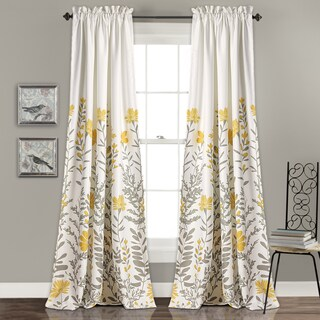 Lush Decor Aprile Room Darkening Curtain Panel Pair