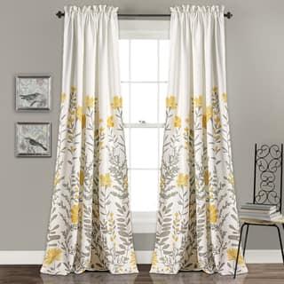Lush Decor Aprile Room Darkening Curtain Panel Pair|https://ak1.ostkcdn.com/images/products/16816557/P23119312.jpg?impolicy=medium