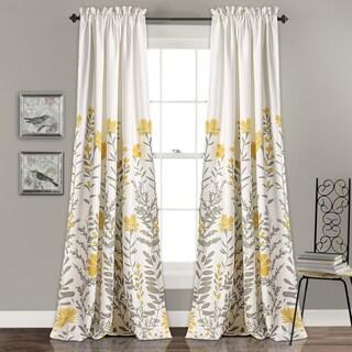 Maison Rouge Villon Room Darkening Curtain Panel Pair