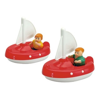 Aquaplay 2 Sailboats with 2 Figures