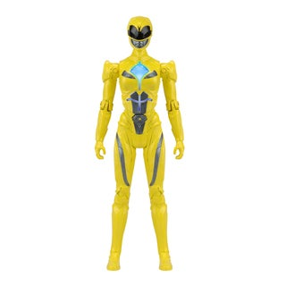 Power Rangers Movie Morphin Power Yellow Ranger Figure