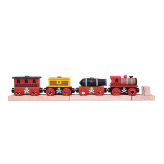 Bigjigs Toys Wooden Pirate Train