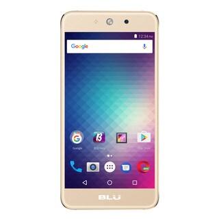 BLU Grand M G070Q Unlocked GSM Quad-Core Dual-SIM Phone - Gold (Refurbished)