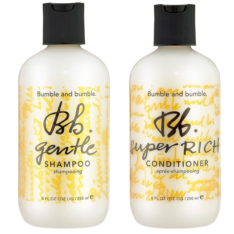 Bumble & Bumble 8-ounce Gentle Shampoo & Super Rich Condi...