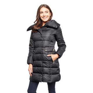 Cole Haan Women's Shimmer Down Jacket|https://ak1.ostkcdn.com/images/products/16816663/P23119366.jpg?impolicy=medium