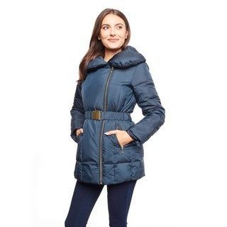 Cole Haan Women's Belted Down Jacket