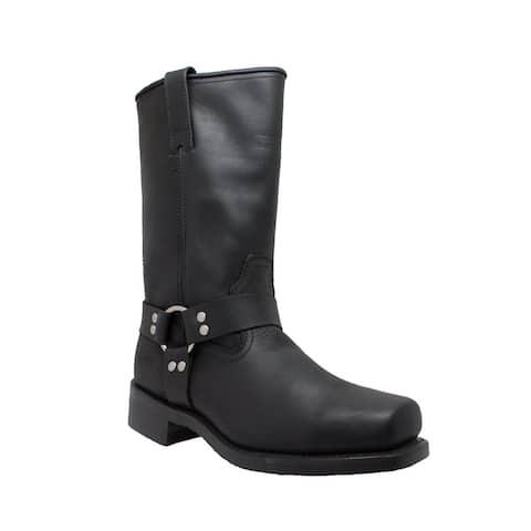 "Men's 13"" Harness Boot Black"