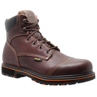 "Men's 6"" Comfort Work Boot Dark Brown"
