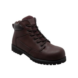 "Men's 6"" Composite Toe Work Boot Brown"