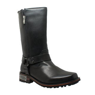 "Mens 13"" Harness Double Zipper Boot"