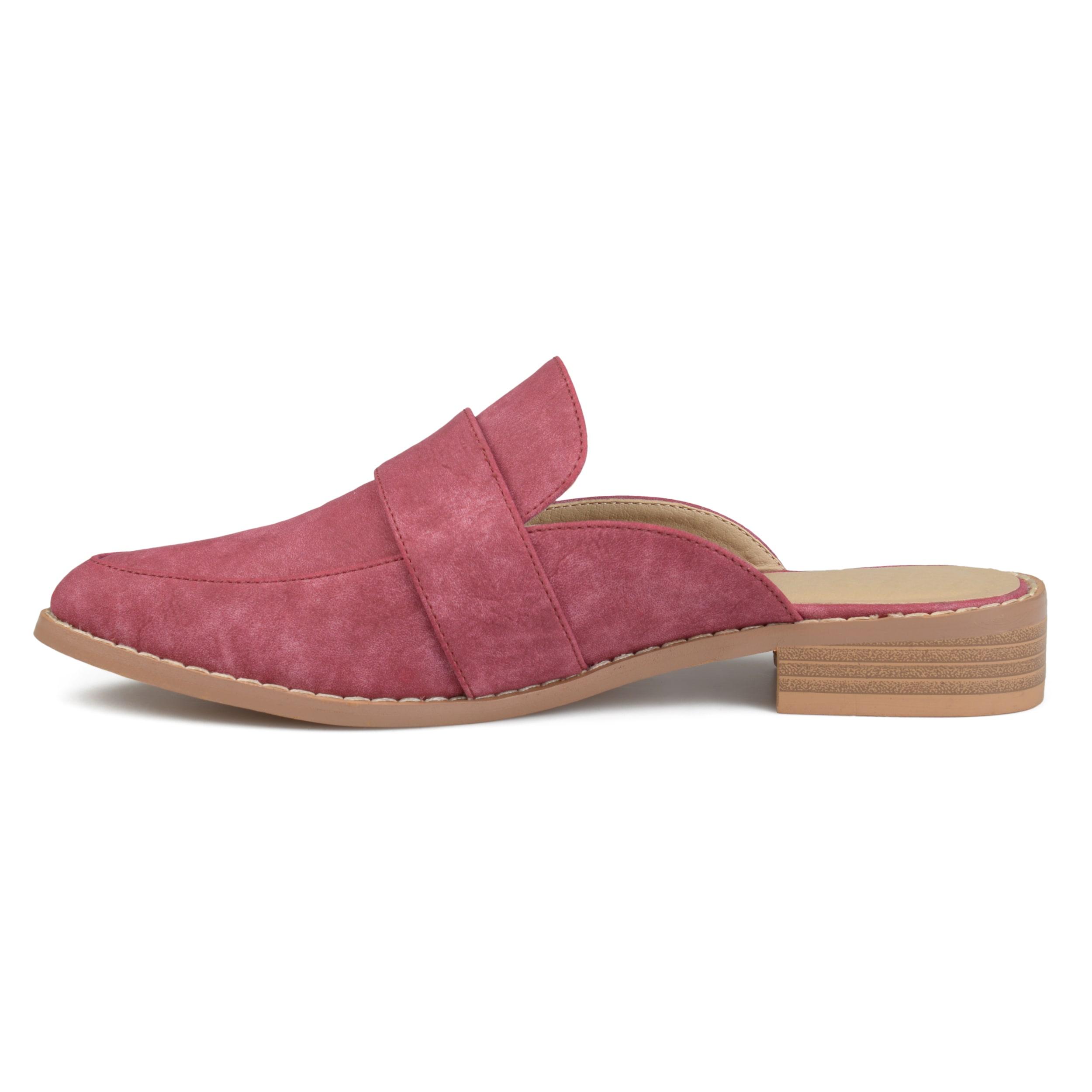 Journee-Collection-Women-039-s-039-Keely-039-Almond-Toe-Slip-on-Mules thumbnail 10