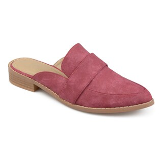 Journee Collection Women's 'Keely' Almond Toe Slip-on Mules