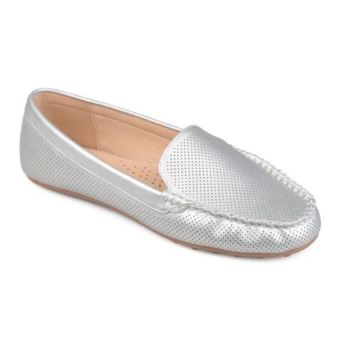 Journee Collection Women's 'Halsey' Laser-cut Comfort-sole Loafers