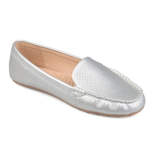 Journee Collection Women's 'Halsey' Laser-cut Comfort-sole Loafers