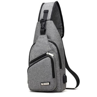 Coutlet Sports Messenger Bag with USB Charger Port