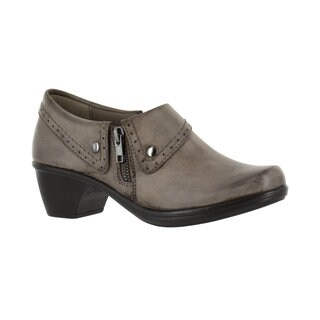 Easy Street Women's Darcy Side Zip Shootie (Granite Burnished)