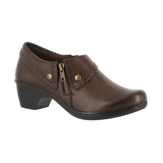 Easy Street Women's Darcy Side Zip Shootie (Brown Burnished) (More options available)