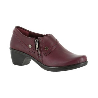 Easy Street Women's Darcy Side Zip Shootie (Burgundy Burnished) (3 options available)