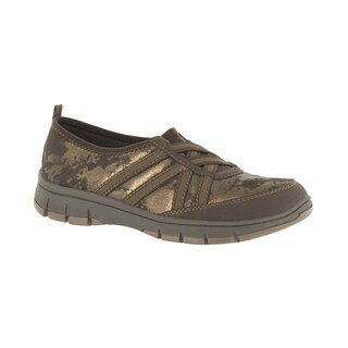"Easy Street Women's Sport ""Kila"" Athleisure Slip On (Brown Shimmer) (More options available)"