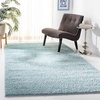 Safavieh New York Shag Geometric Blue Area Rug - 5'-1 x 7'-6