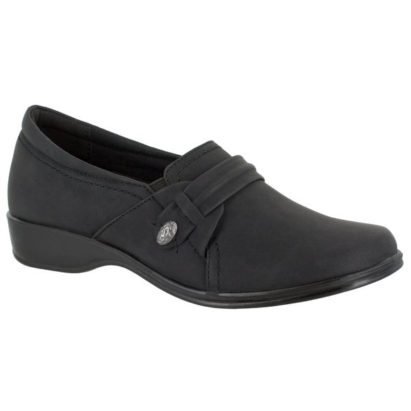 ... Women's Shoes; /; Slip-ons. Easy Street Women's Fargo Casual Slip  On (Black)
