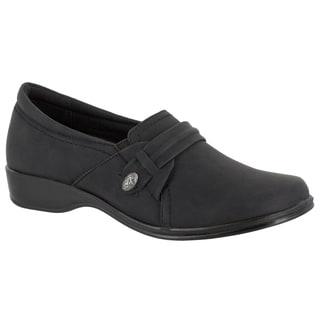 Easy Street Women's Fargo Casual Slip On (Black)
