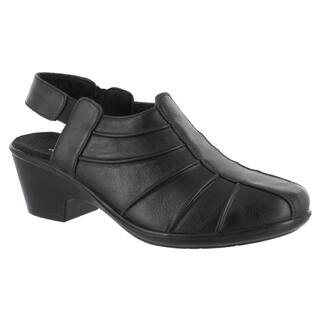 Easy Street Women's Manner Casual Slingback (Black Burnished)|https://ak1.ostkcdn.com/images/products/16817207/P23119864.jpg?impolicy=medium
