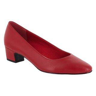 Easy Street Women's Prim Pump (Red)
