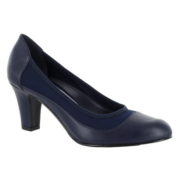 83cf5ab05a4 Shop Easy Street Women s Jordan Pump (Navy) - Free Shipping Today ...