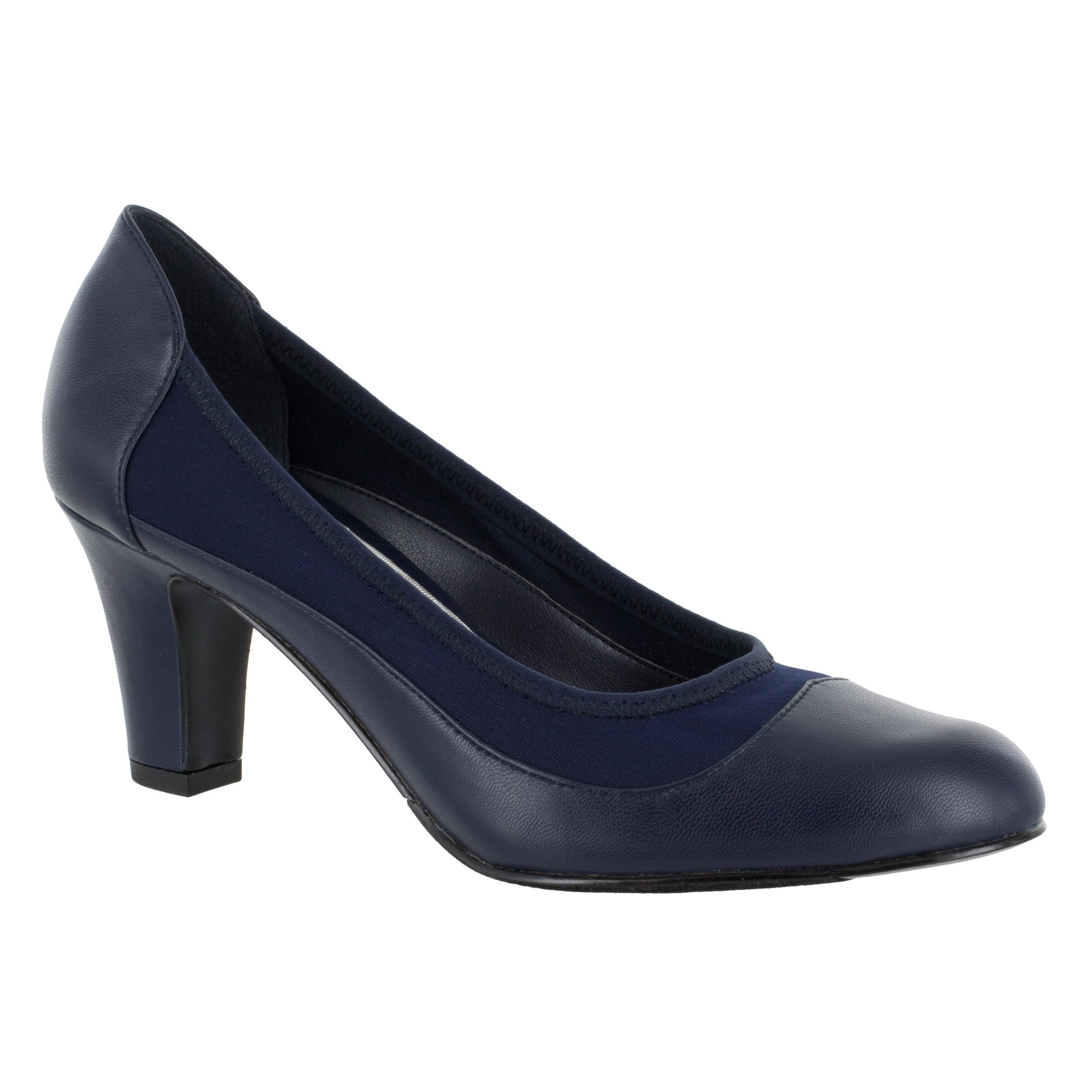 Easy Street Women's Jordan Pump (Navy) (8 1/2 Medium), Si...