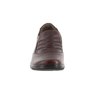 Easy Street Women's Proctor Comfort Slip On (Burgundy)