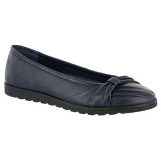 Easy Street Women's Giddy Ii Flat (Navy)|https://ak1.ostkcdn.com/images/products/16817299/P23119993.jpg?impolicy=medium