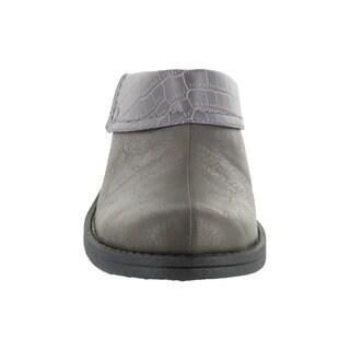 Easy Street Women's Becca Mule (Grey/Croco)