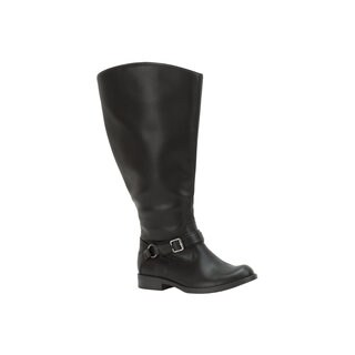 Easy Street Women's Quinn Plus Plus Extra Wide Calf Boot (Black)