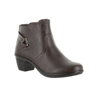 Easy Street Women's Dawnta Bootie (Brown)