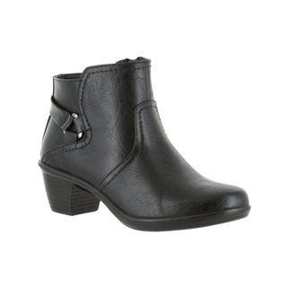Easy Street Women's Dawnta Bootie (Black)