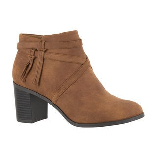 Easy Street Women's Reed Bootie (Tan)
