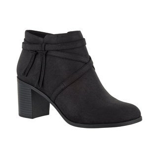 Easy Street Women's Reed Bootie (Black) (3 options available)