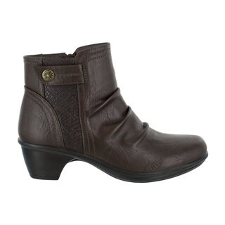 Easy Street Women's Draft Bootie (Brown/Snake) (More options available)