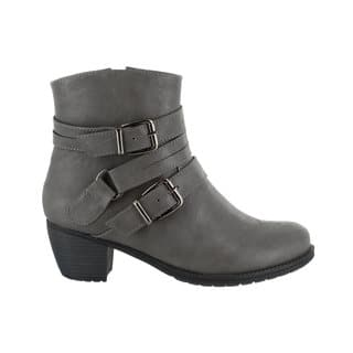 Easy Street Women's Coby Bootie (Grey)|https://ak1.ostkcdn.com/images/products/16817483/P23120114.jpg?impolicy=medium