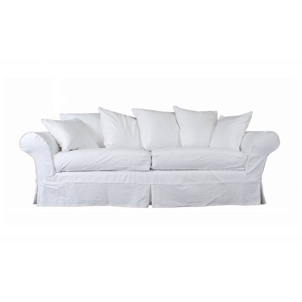 Shop Elizabeth Stain-resistant 7-piece Sofa Slipcover - Free ...