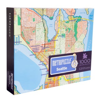 Geotoys Seattle MetroPuzzle
